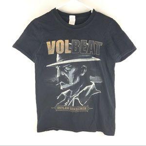Volbeat Outlaw Gentlemen Tour Mens Size S Shirt